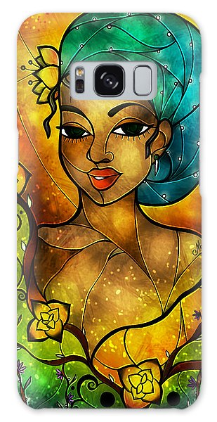 Lady Creole Galaxy Case