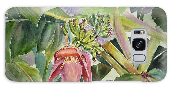 Lady Fingers - Banana Tree Galaxy Case by Roxanne Tobaison