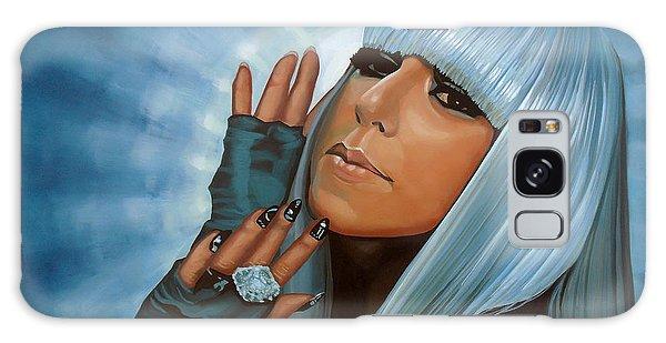 Cd Galaxy Case - Lady Gaga Painting by Paul Meijering