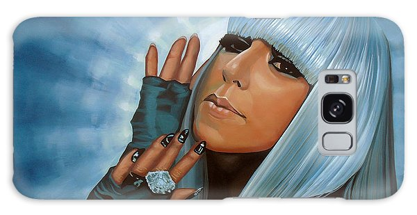 Lady Galaxy Case - Lady Gaga Painting by Paul Meijering