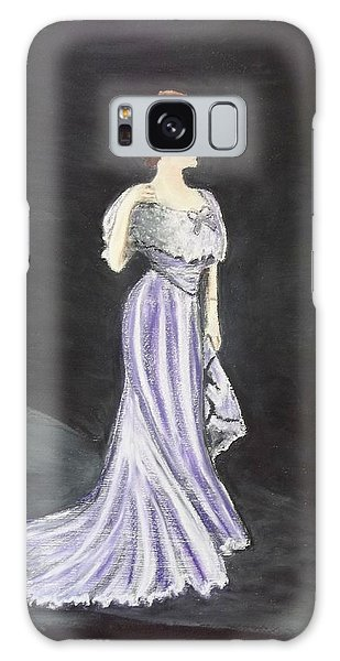 Lady In Gown Galaxy Case