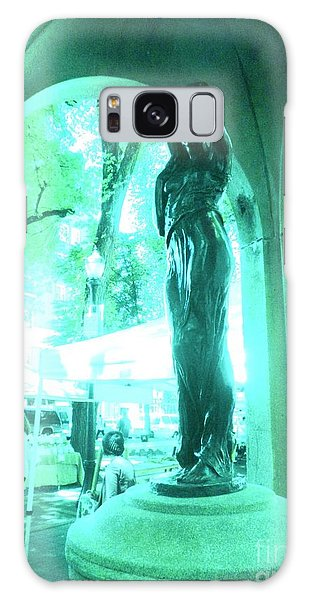 Lady In The Park Galaxy Case