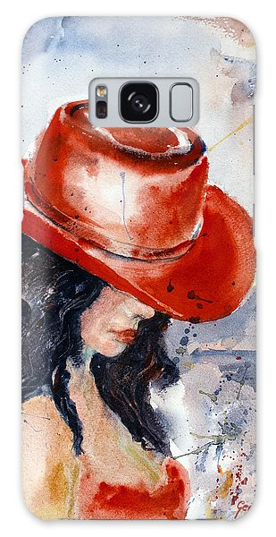 The Red Hat Galaxy Case by Genevieve Brown