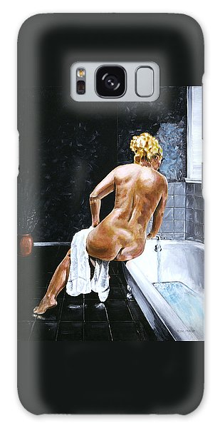 Lady In Waiting Galaxy Case by Ron Haist