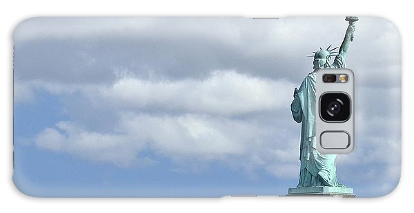 Lady Liberty   1 Galaxy Case by Allen Beatty