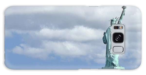 Lady Liberty   1 Galaxy Case