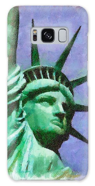 Lady Liberty Galaxy Case