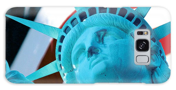 Lady Liberty  Galaxy Case by Jerry Fornarotto