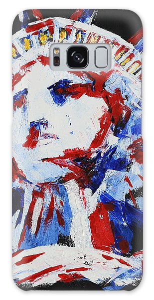 Lady Liberty  Galaxy Case by Patricia Olson