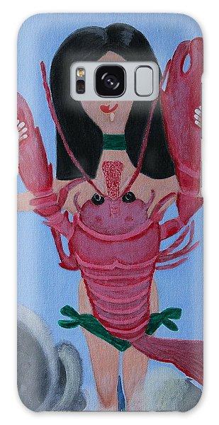 Lady Lobster Galaxy Case by Lorna Maza