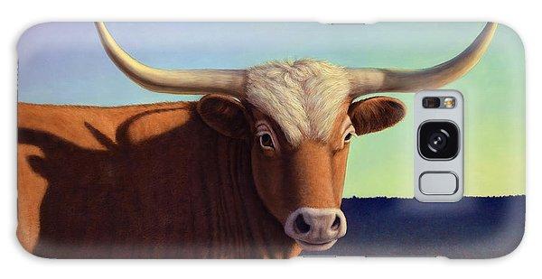 Bull Galaxy Case - Lady Longhorn by James W Johnson