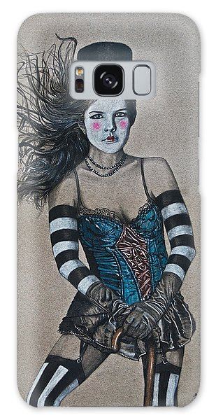 Lady Of A Different Stripe Galaxy Case by TP Dunn