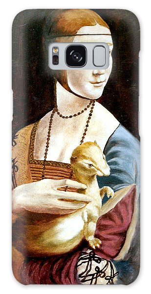 Lady With An Ermine Galaxy Case