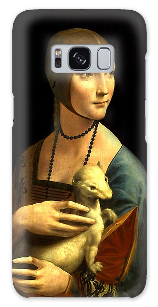 Lady With The Ermine Reproduction Galaxy Case