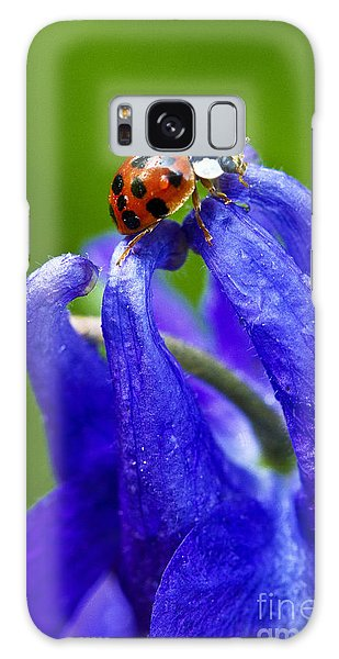 Ladybug Galaxy Case by Carrie Cranwill