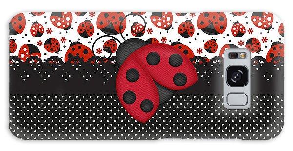 Ladybug Mood  Galaxy Case