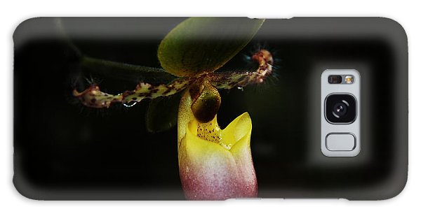 Ladys Slipper Orchid Galaxy Case by Greg Allore
