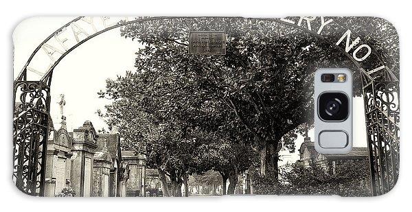 Lafeyette Cemetery No. 1 Sepia Galaxy Case