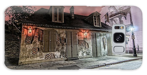 Lafitte's Blacksmith Shop Galaxy Case by Andy Crawford