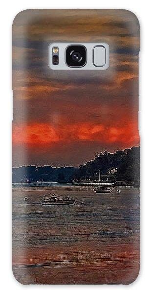 Lago Maggiore Galaxy Case by Hanny Heim