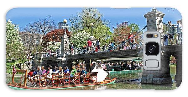 Lagoon Bridge And Swan Boat Galaxy Case