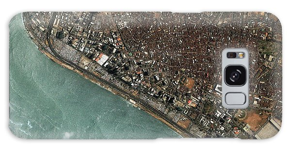 Nigeria Galaxy Case - Lagos by Geoeye/science Photo Library