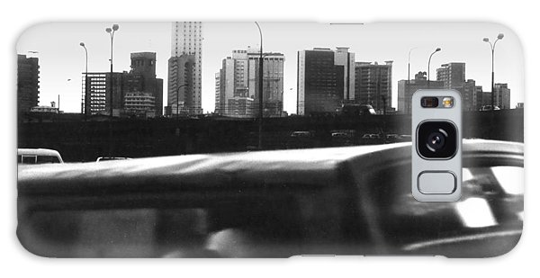 Lagos Skyline At Dusk Galaxy Case