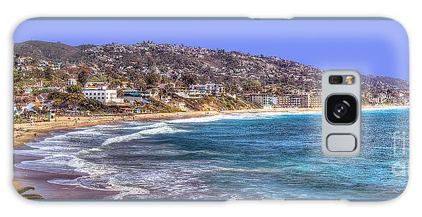 Laguna Beach Coast Panoramic Galaxy Case by Jim Carrell