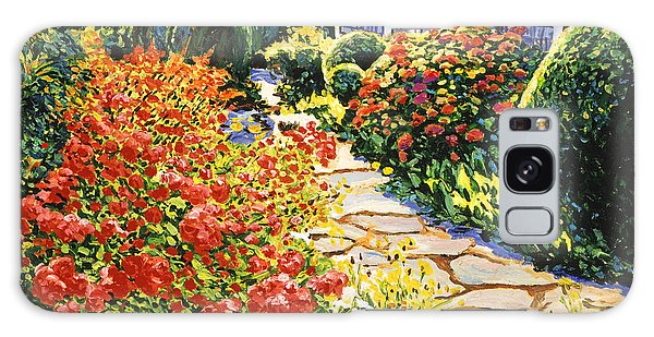 Laguna Beach House Garden Galaxy Case