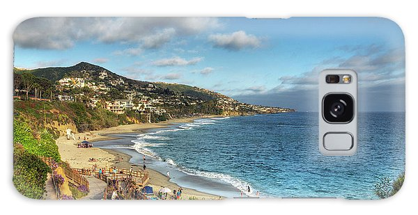 Laguna Beach Shoreline Galaxy Case