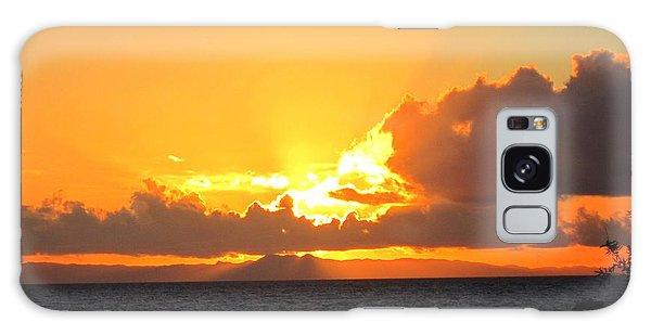 Laguna Beach Sunset 7 Galaxy Case