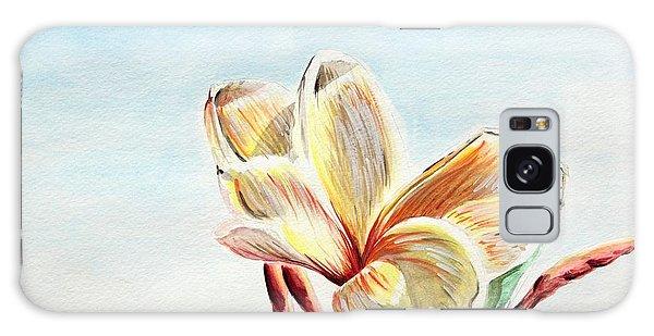 Laguna Flower Galaxy Case by Katharina Filus