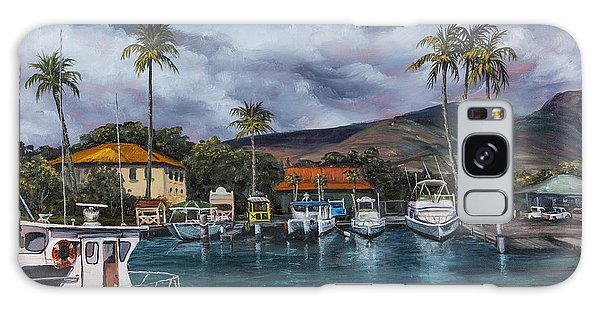 Lahaina Harbor Galaxy Case by Darice Machel McGuire