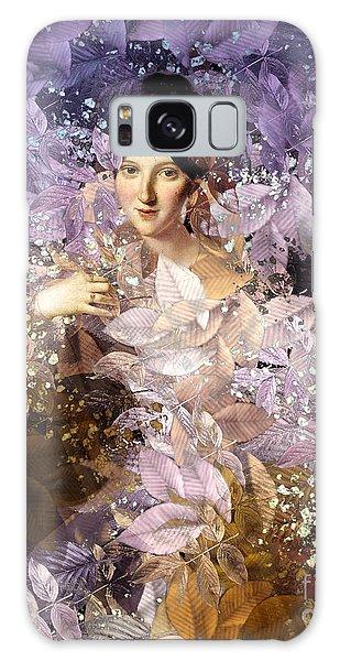 Laila - Des Femmes Et Des Fleurs Galaxy Case