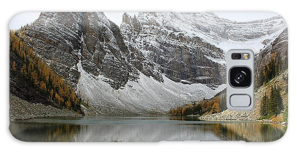 Galaxy Case featuring the photograph Lake Agnes by Ramona Johnston