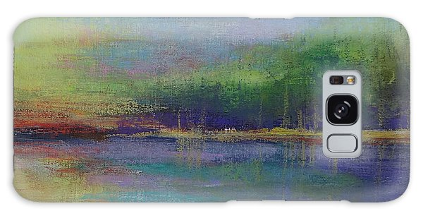 Lake At Sundown Galaxy Case