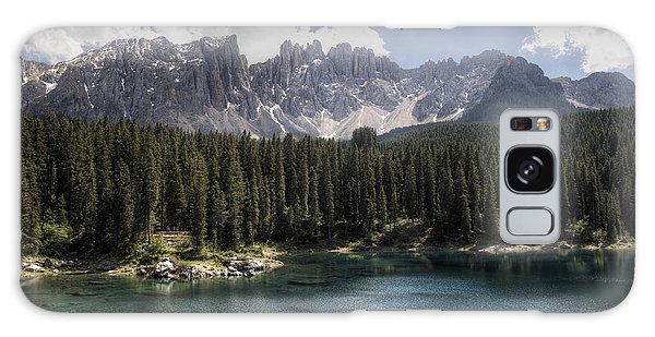Lake Carezza Galaxy Case