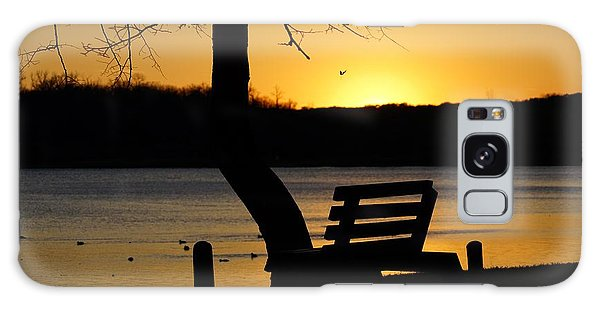 Lake Carlos State Park Sunset Galaxy Case by Steven Clipperton