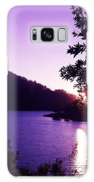 Lake Chabot On A Summer Eve Galaxy Case