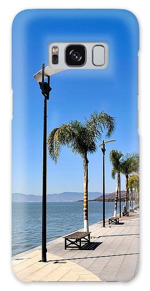 Lake Chapala - Mexico Galaxy Case by David Perry Lawrence