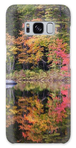 Lake Chocorua Moment Of Reflection Galaxy Case by Karen Stephenson