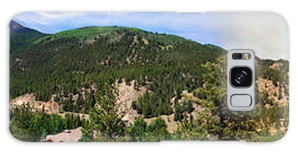 Lake City Colorado Mountain Range Galaxy Case by Max Mullins