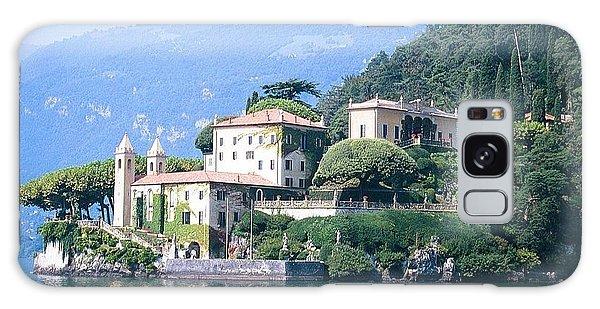 Lake Como Palace Galaxy Case