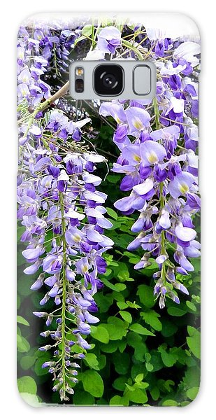 Lake Country Wisteria Galaxy Case by Will Borden