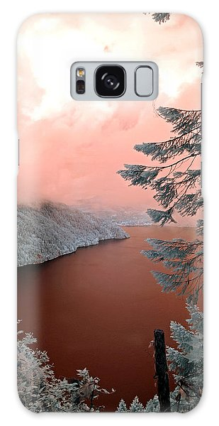 Lake Crescent Light Galaxy Case