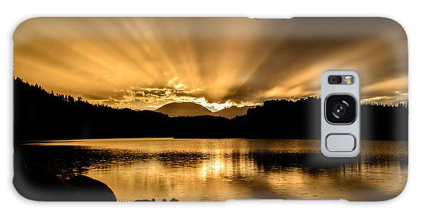 Lake Dillon Sunset Galaxy Case