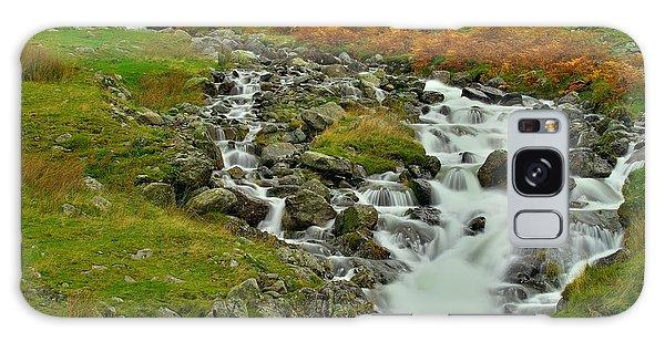 Lake District Waterfall Galaxy Case