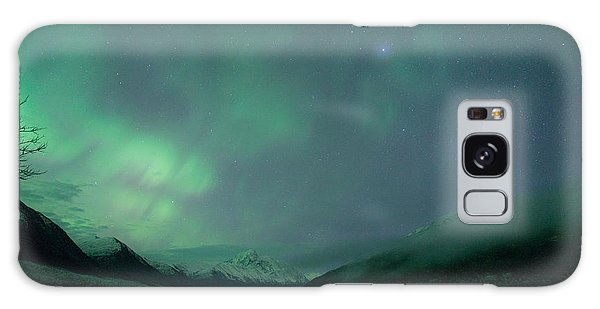 Lake Eklutna Aurora Galaxy Case