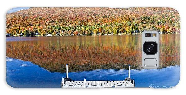 Lake Elmore Autumn Galaxy Case by Alan L Graham