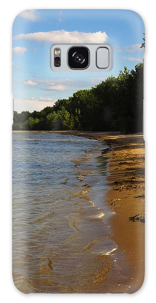 Lake Erie Shore 3 Galaxy Case